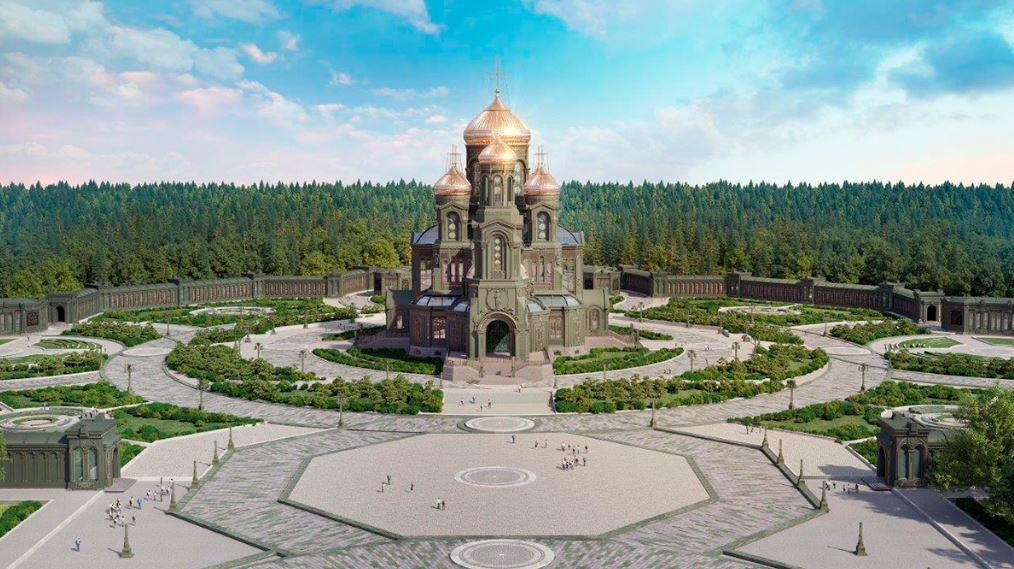 Главный храм Вооружённых сил России — Храм Воскресения Христова